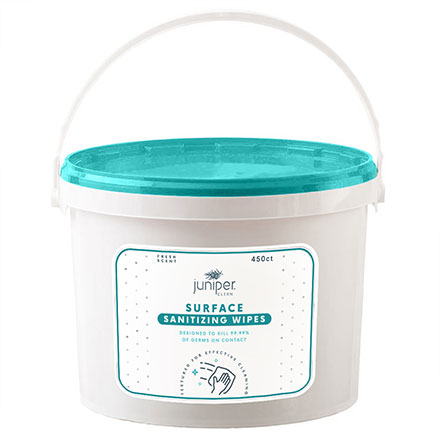Juniper Clean Surface Sanitizing Wipes Tub