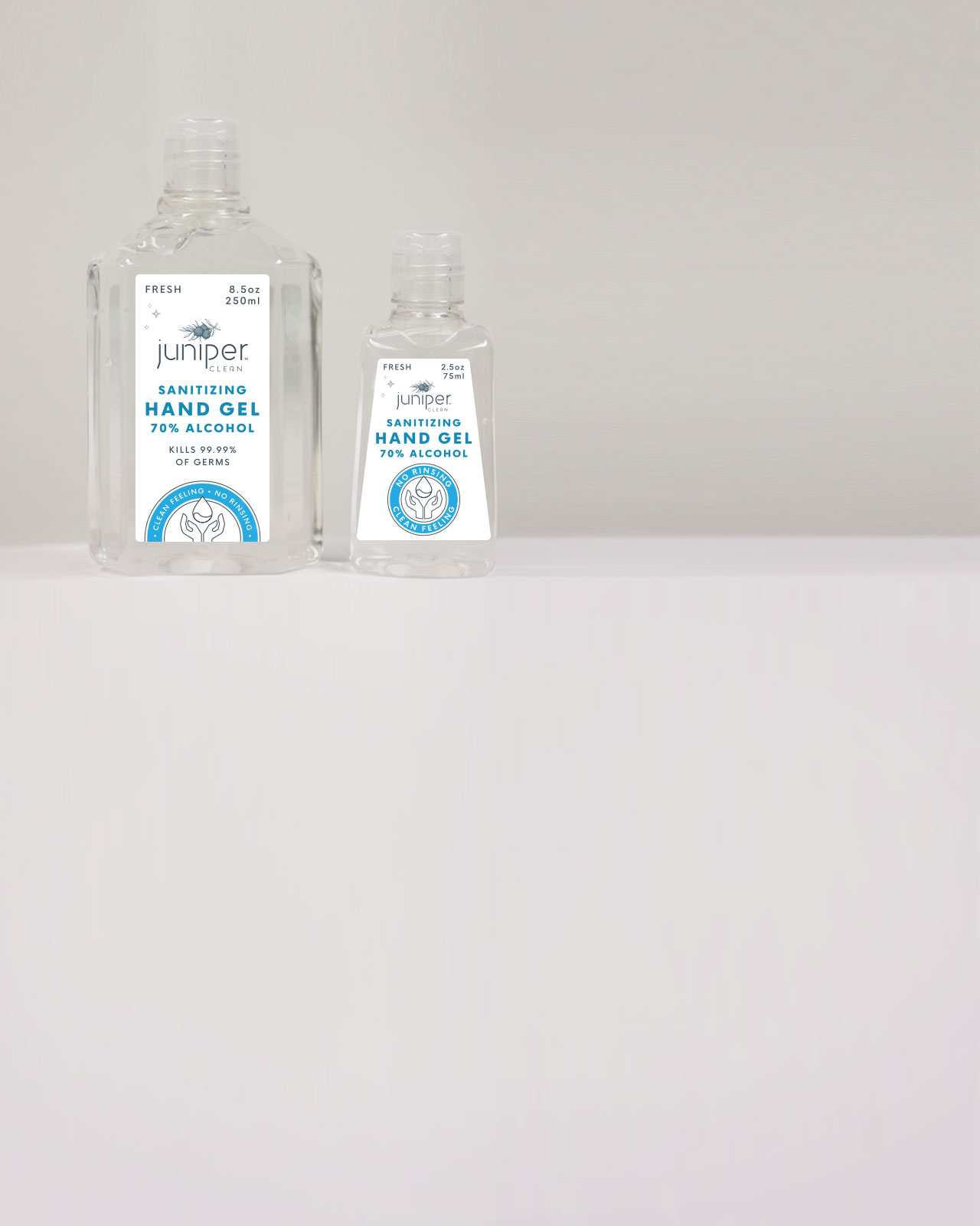 KYNC Custom Juniper Clean Hand Sanitizing Gels